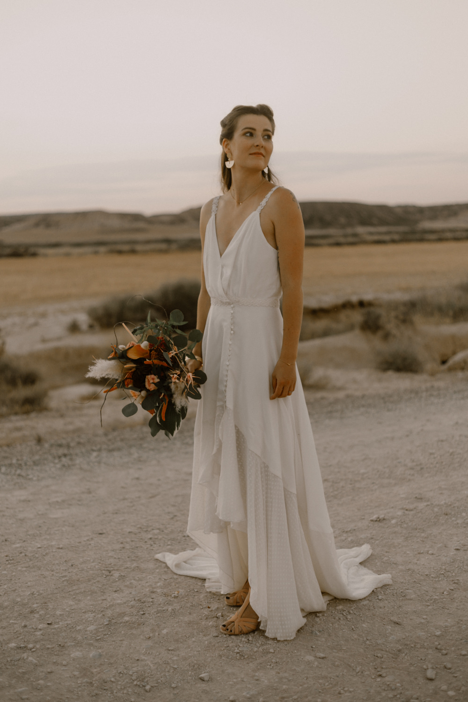 Mariée Bride Mariage en Terre Inconnue